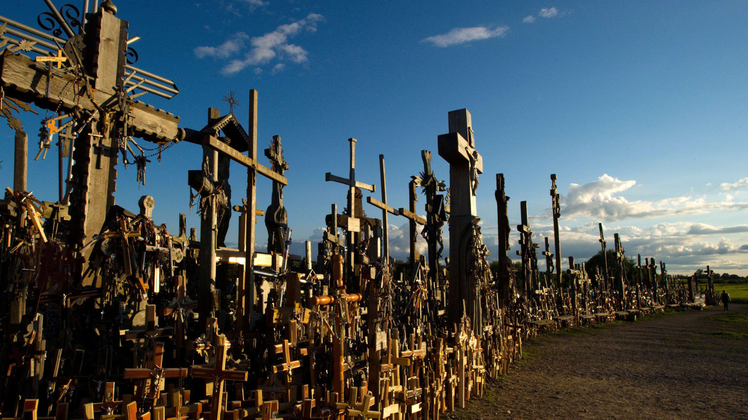 Lithuania S Amazing Hill Of Crosses