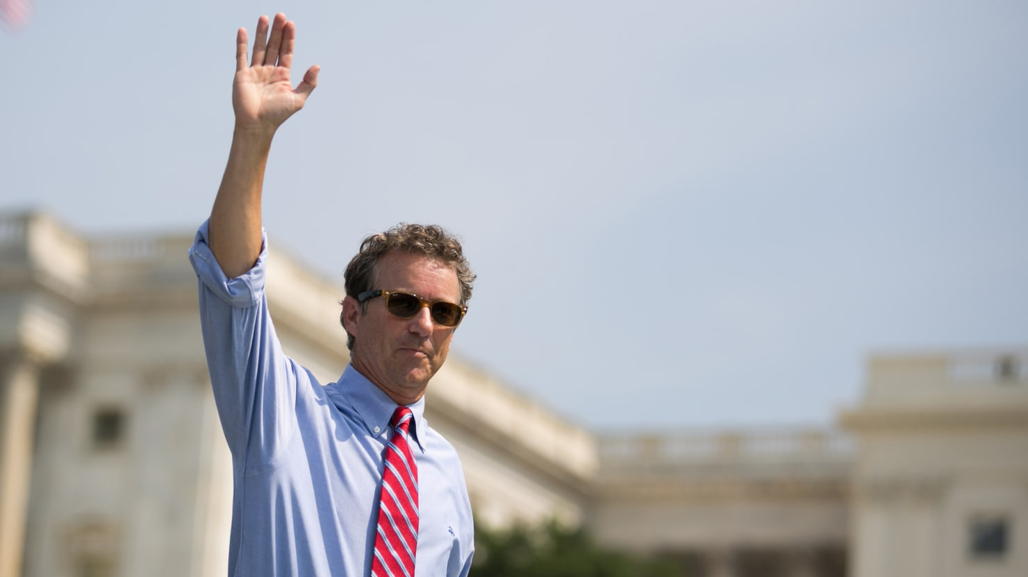 What Rand Paul's Totally F**ked Campaign Says About America