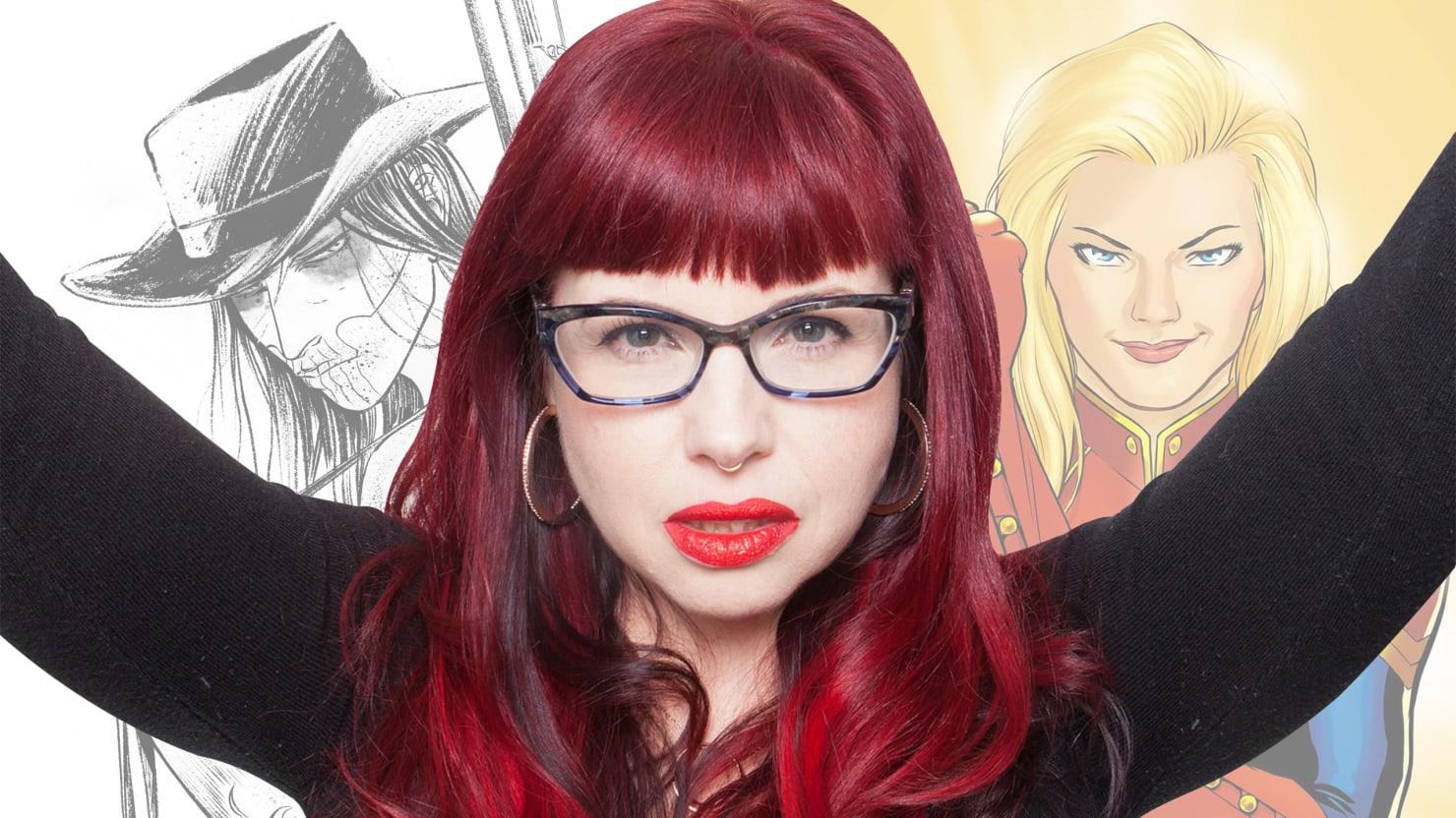 The Feminist Rebel Changing Comics