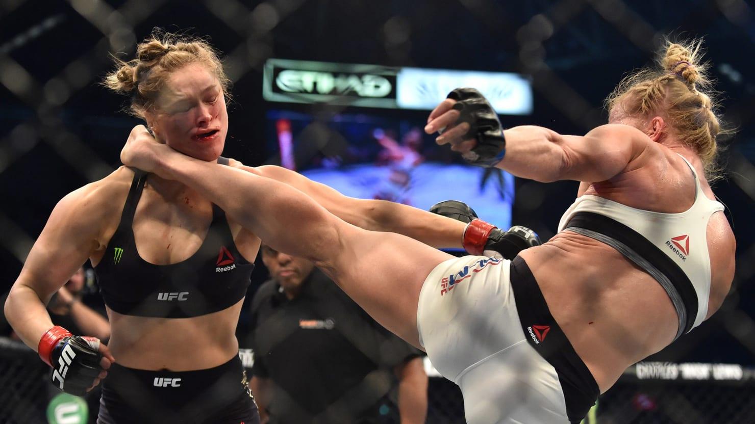 Even KO'd, Ronda Rousey Is the Winner