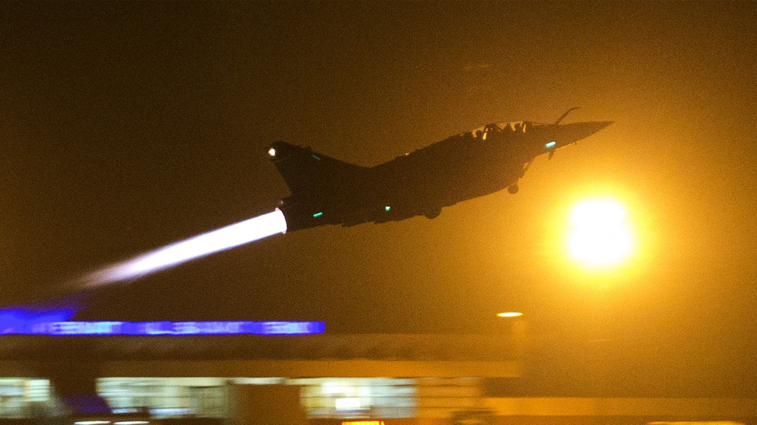 Revenge From Above: France Pounds ISIS Capital