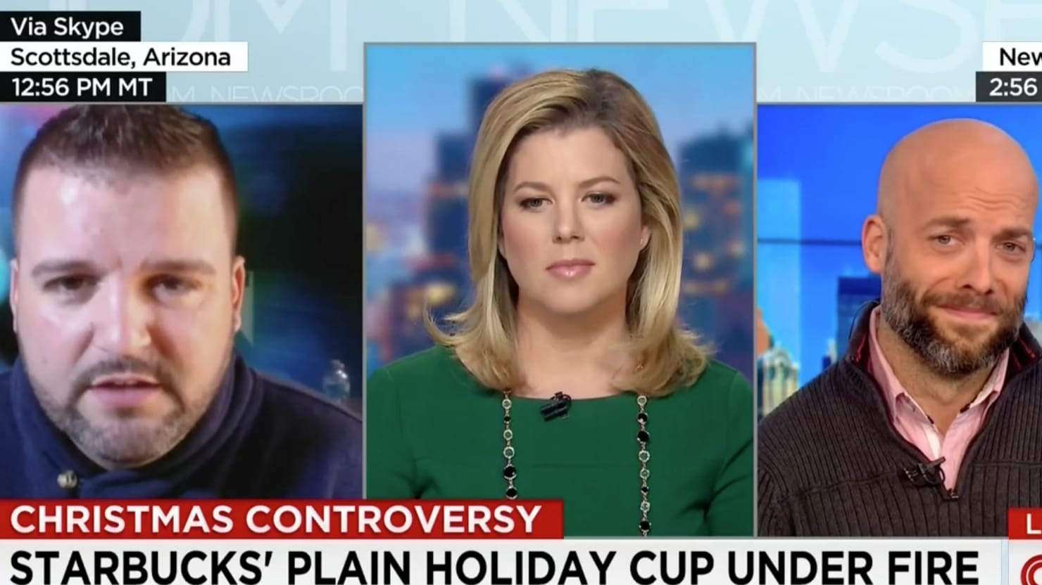 'Starbucks Hates Jesus' Viral Video Star Gets Owned on CNN