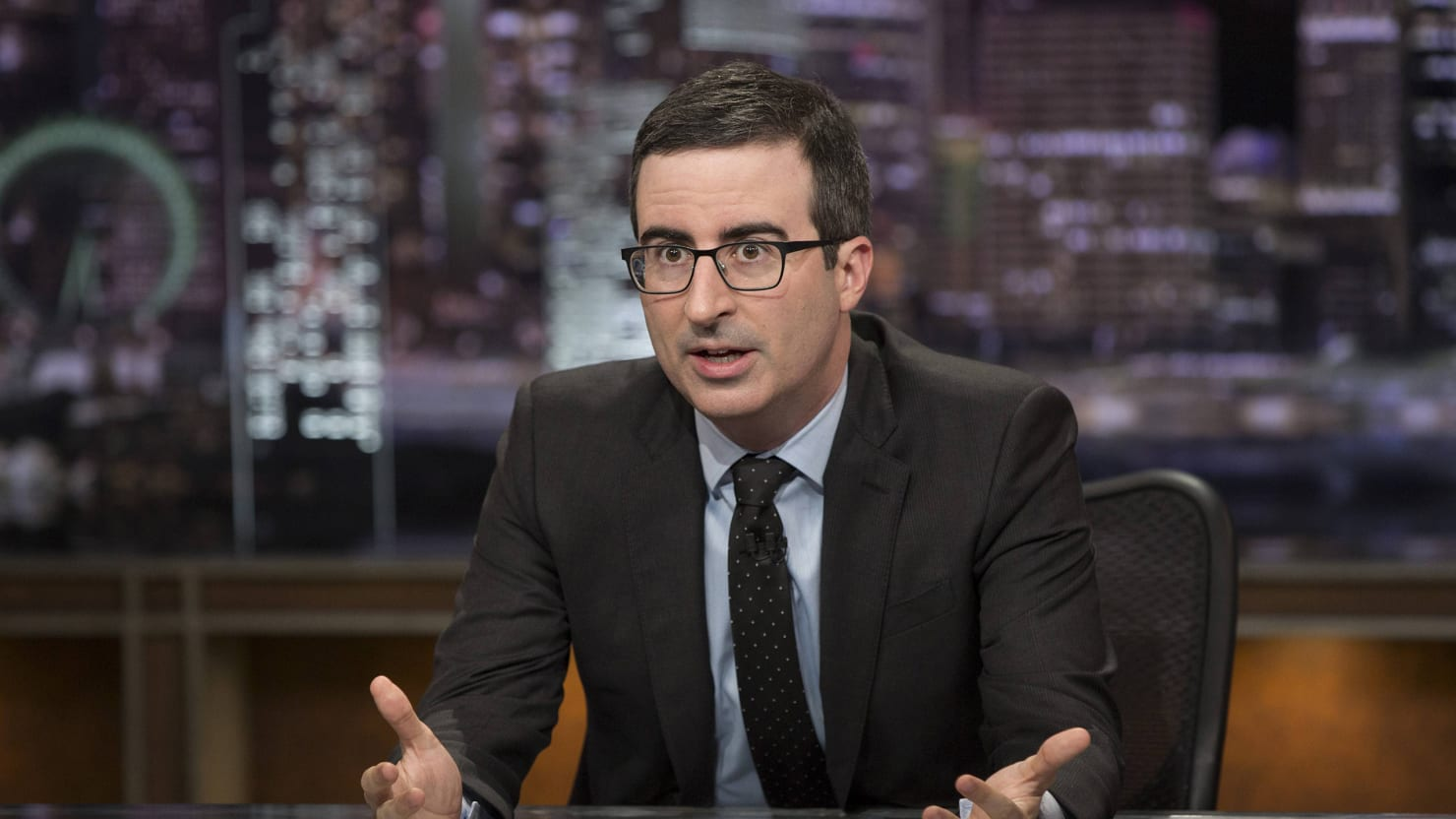 John Oliver Rips GOP's Oregon Shooting Reaction: 'Worst Time to Talk About Mental Health'