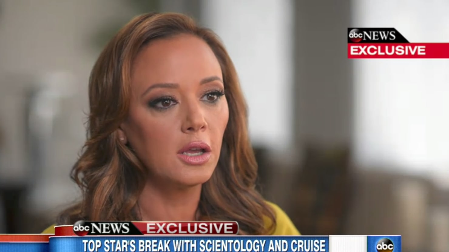 Leah Remini Slams Tom Cruise and Scientology: 'This is Some Crazy Sh-t'