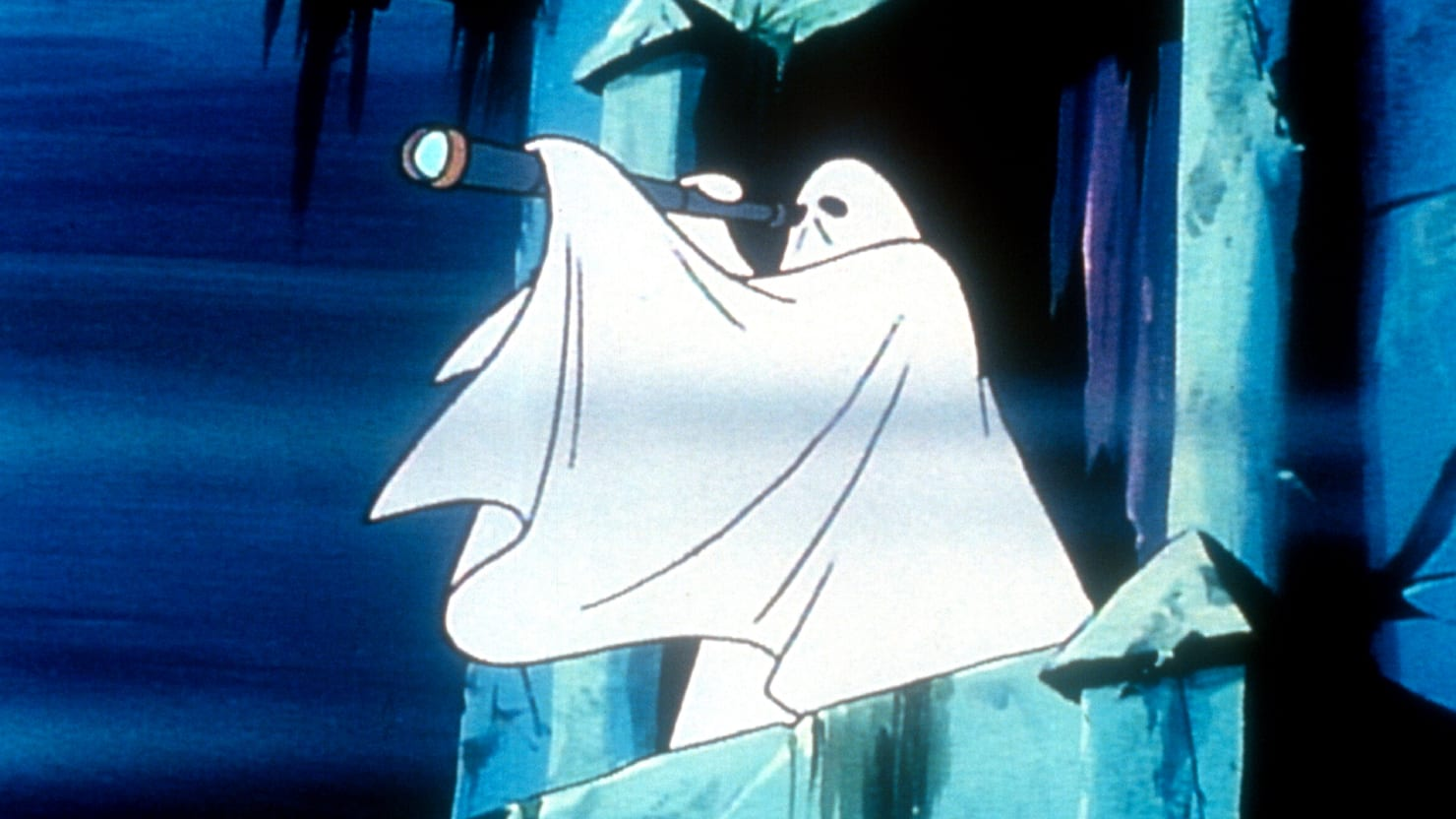 who invented the bedsheet ghost