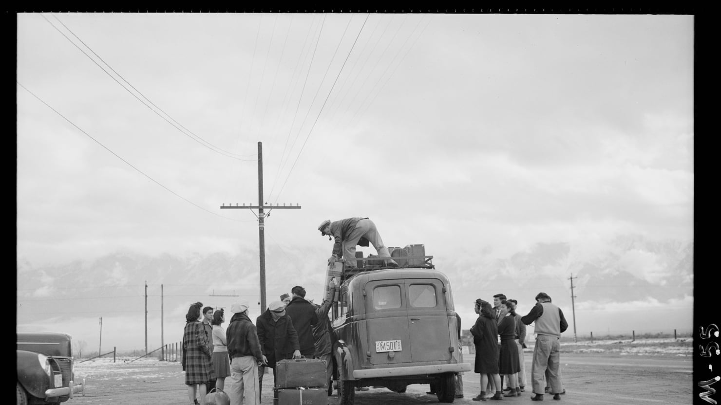 Ansel Adams S Lost Internment Camp Photos