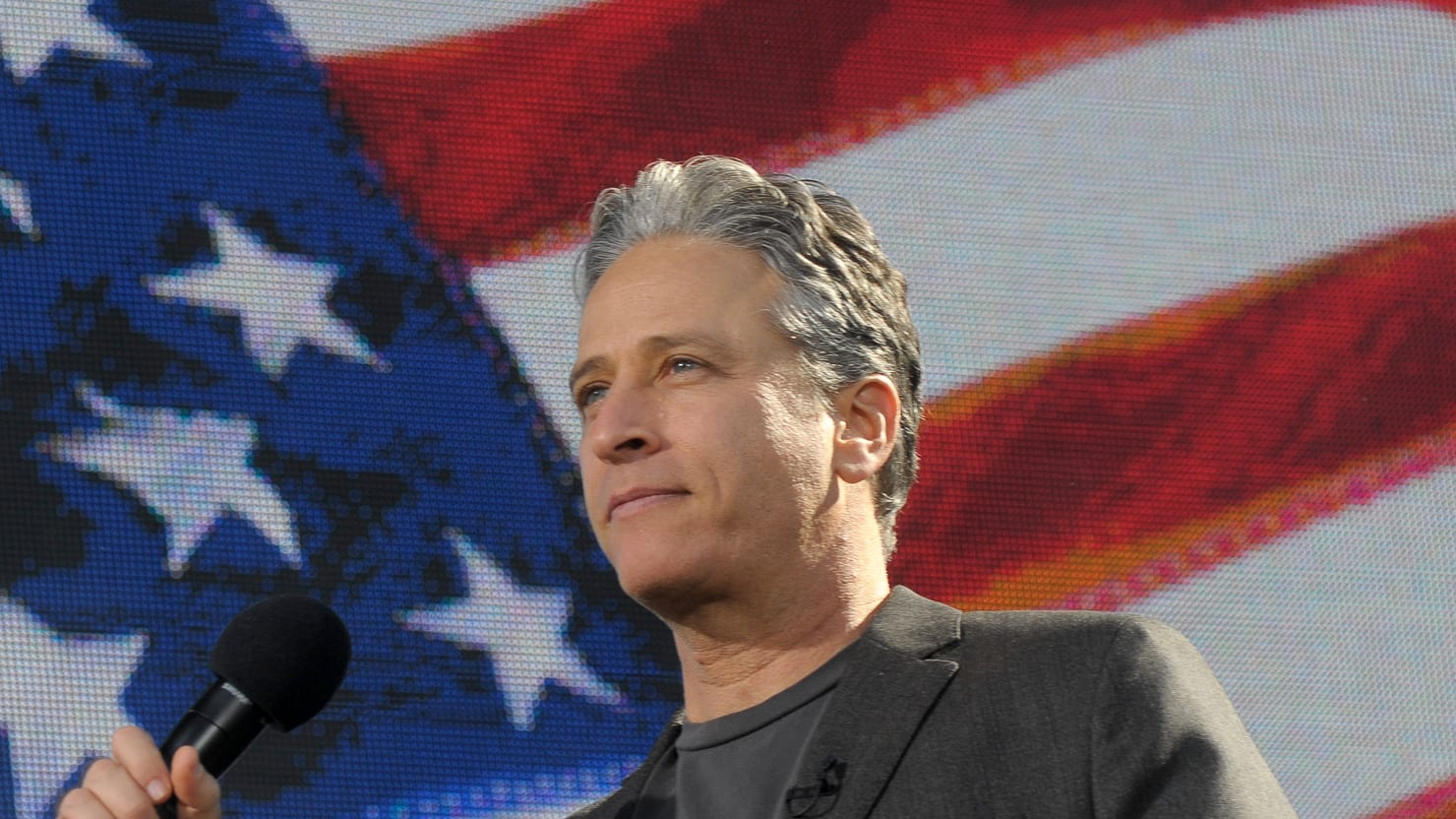 Jon Stewart Goes To Washington To Fight For 911 First