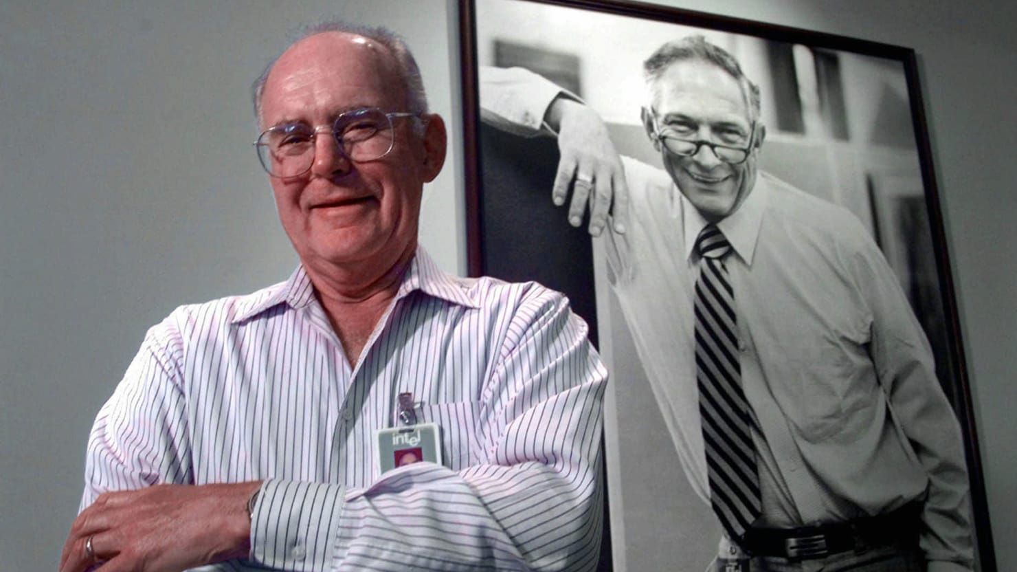 Gordon Moore Is the Nerdy Moses of Silicon Valley