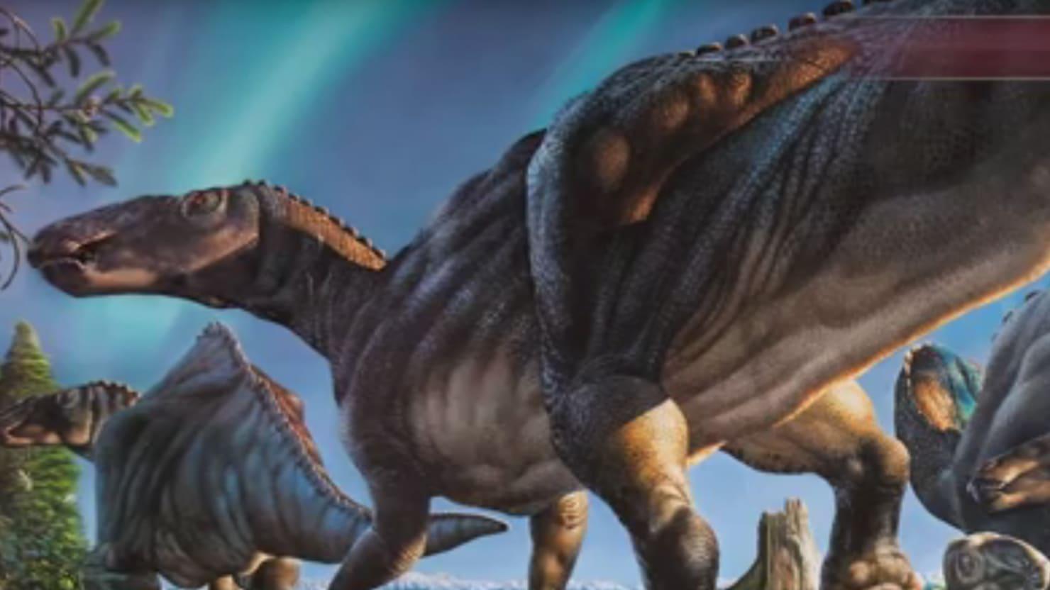 New Dinosaur Is A Moose Duck Sort Of