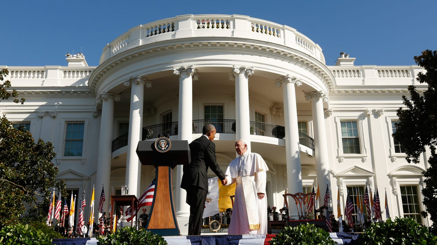 Republicans Have to Know That Francis Isn't Just 'Obama's Pope'