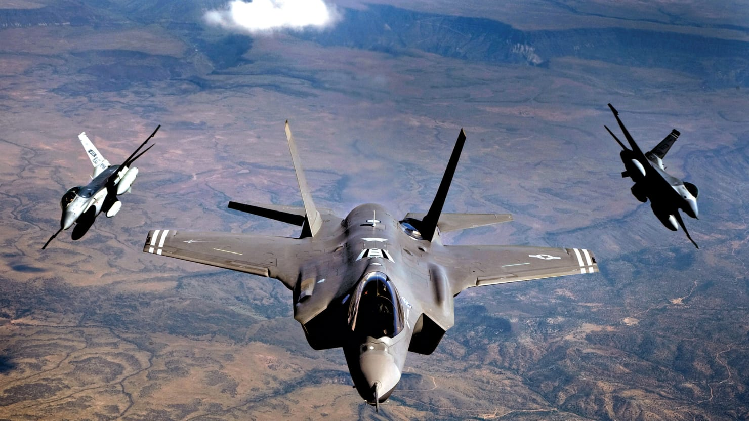 Air Force Admits: Our New Stealth Fighter Can't Fight