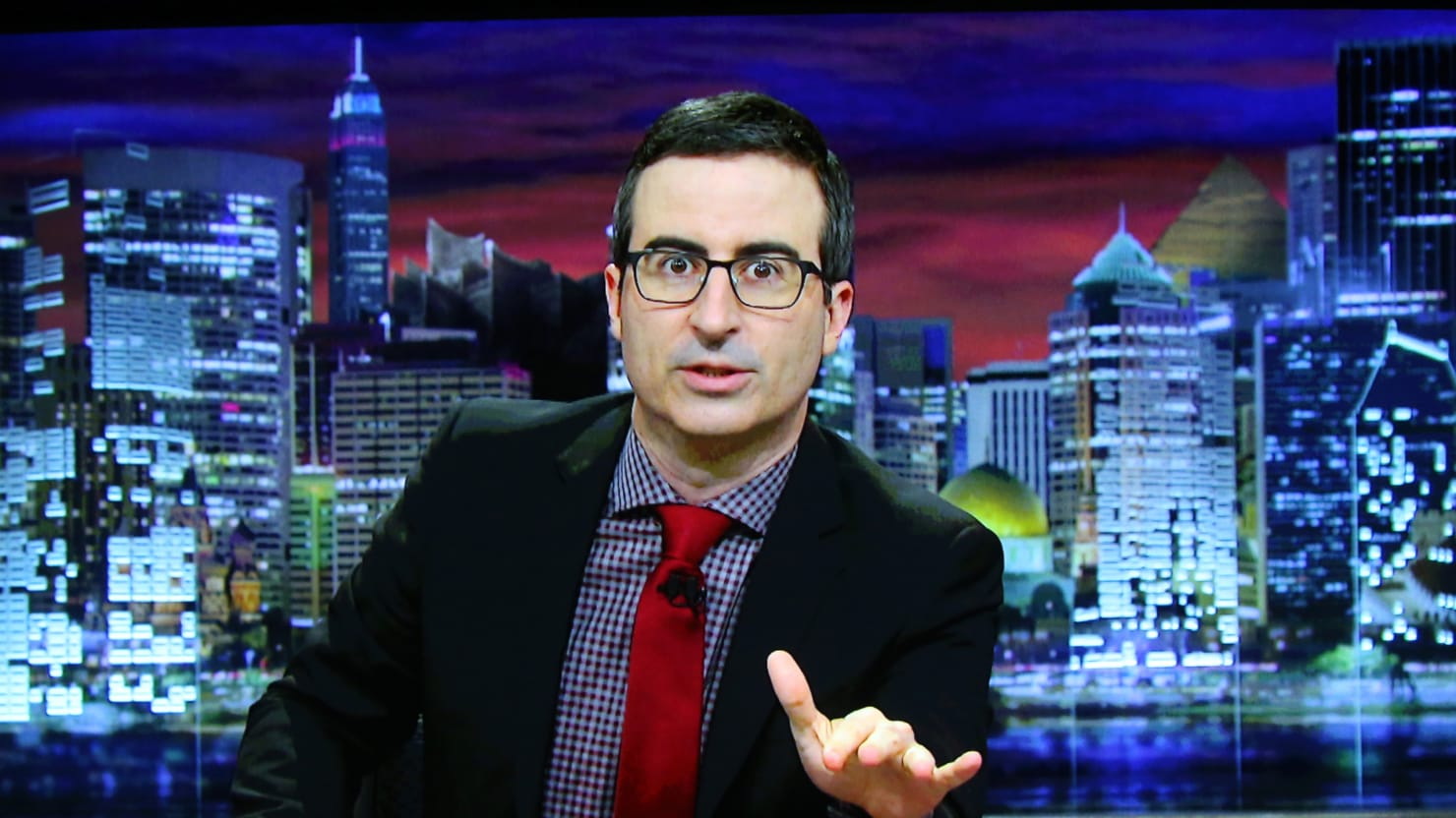 John Oliver's Bogus Church Is a Huge Success: 'Thousands of Dollars' Received