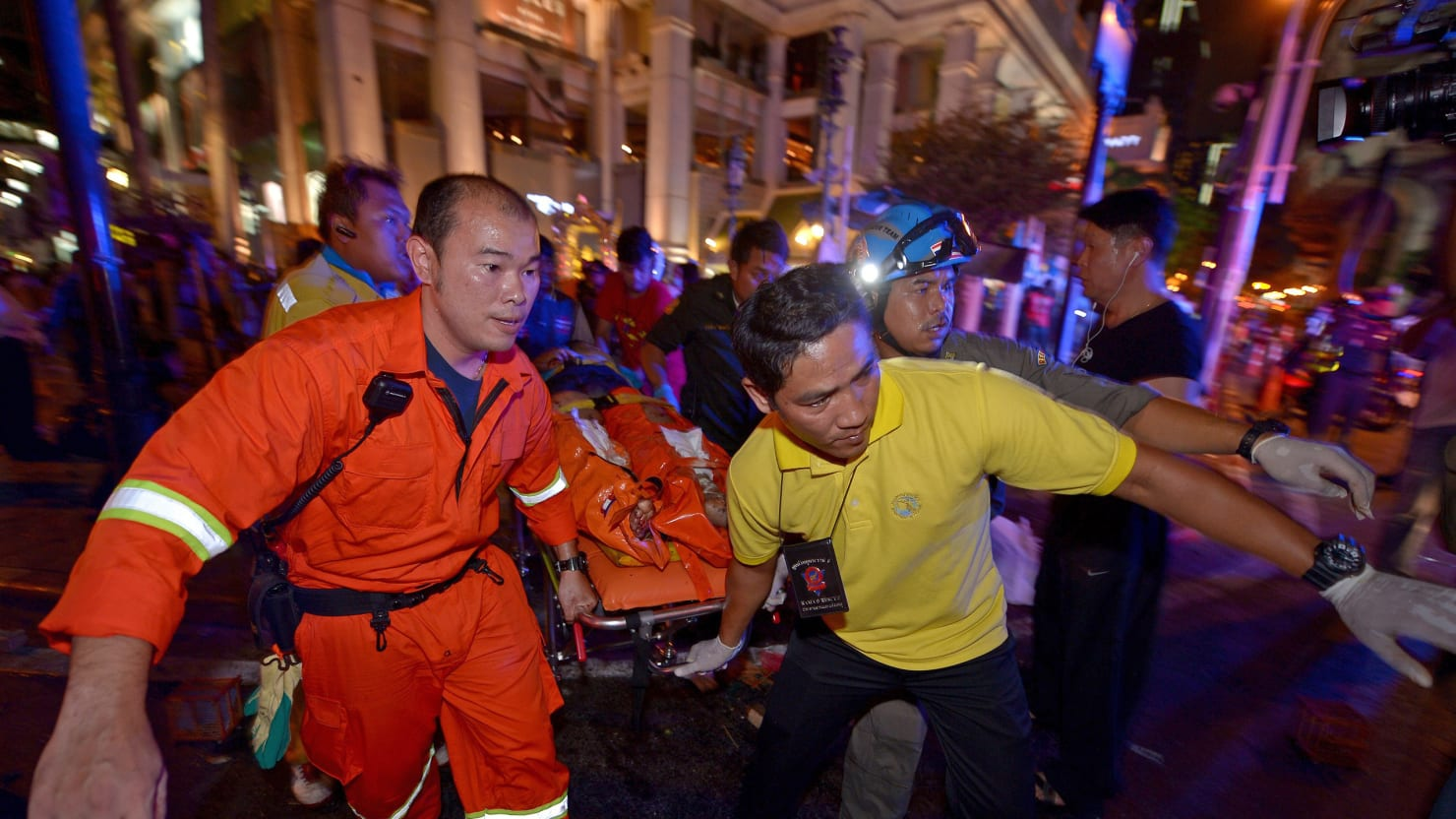 Terrorist Bombing Hits Bangkok