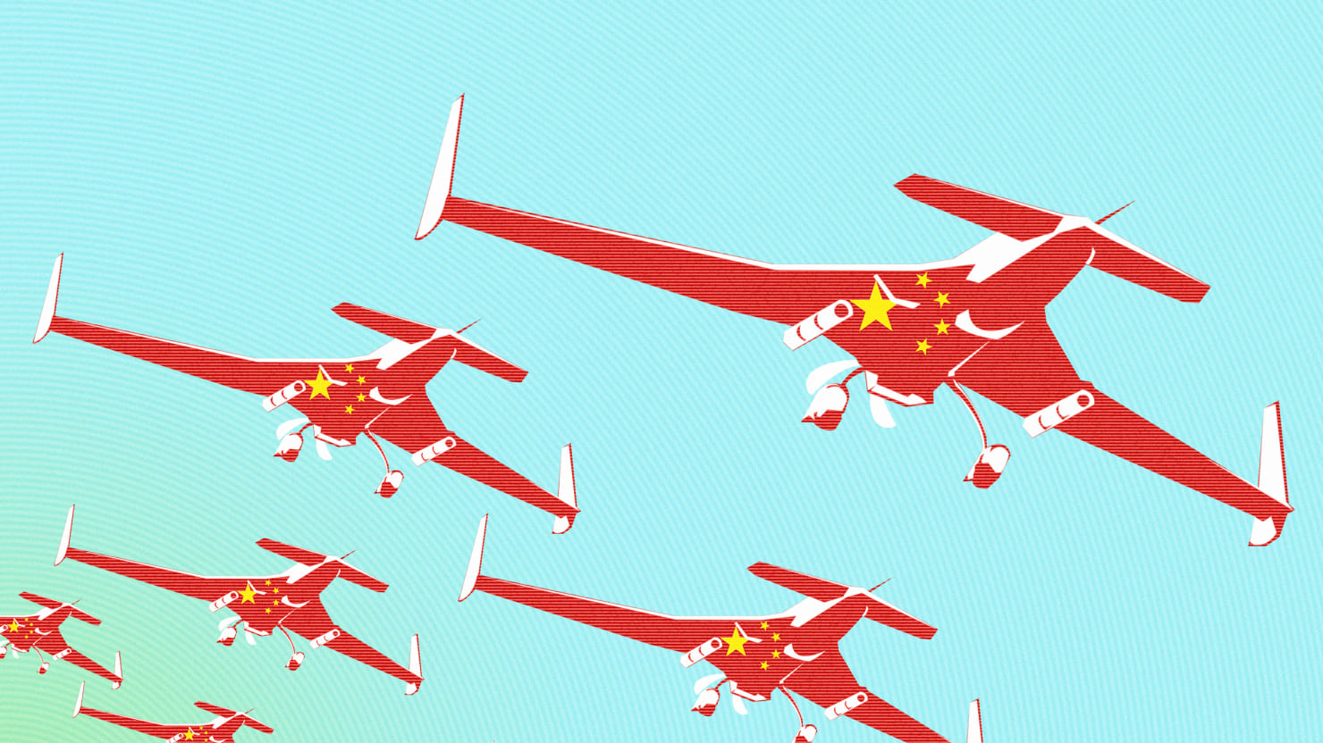 China's First Drone War Is Here