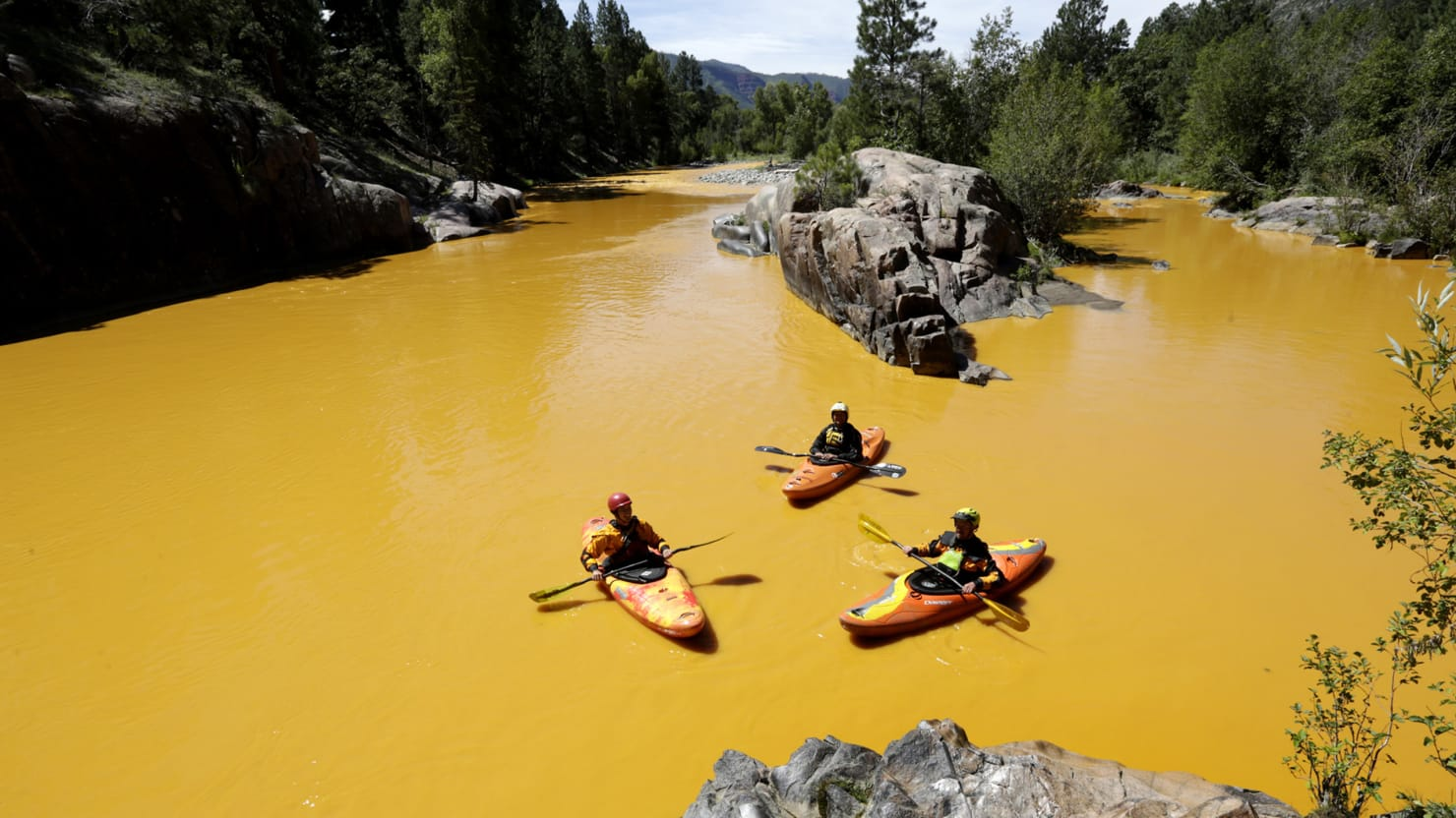 EPA Accidentally Spills 1 Million Gallons Of Toxic Waste