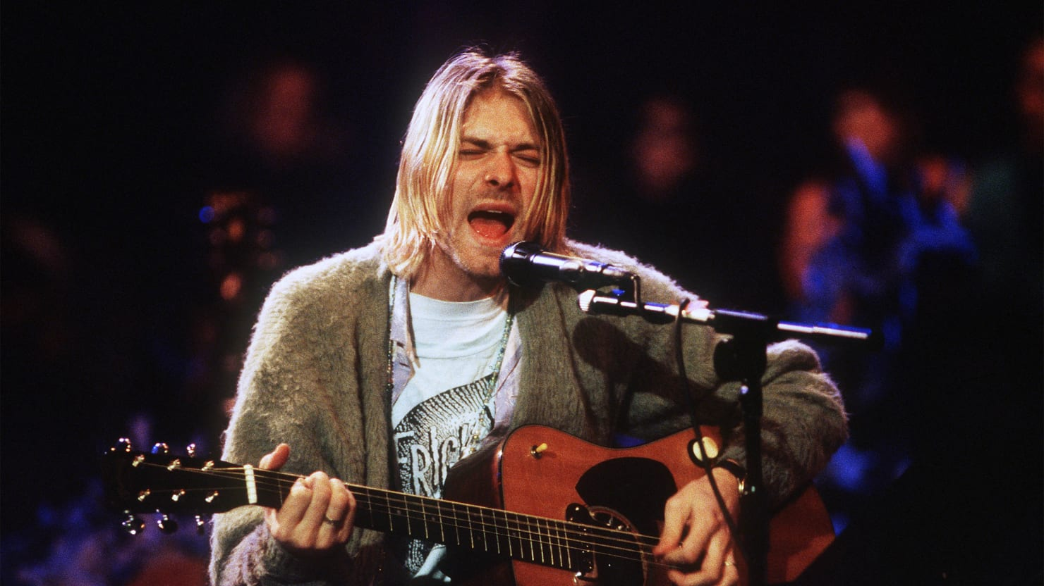 Previously unknown records of Kurt Cobain will go on sale 08/13/2015 31
