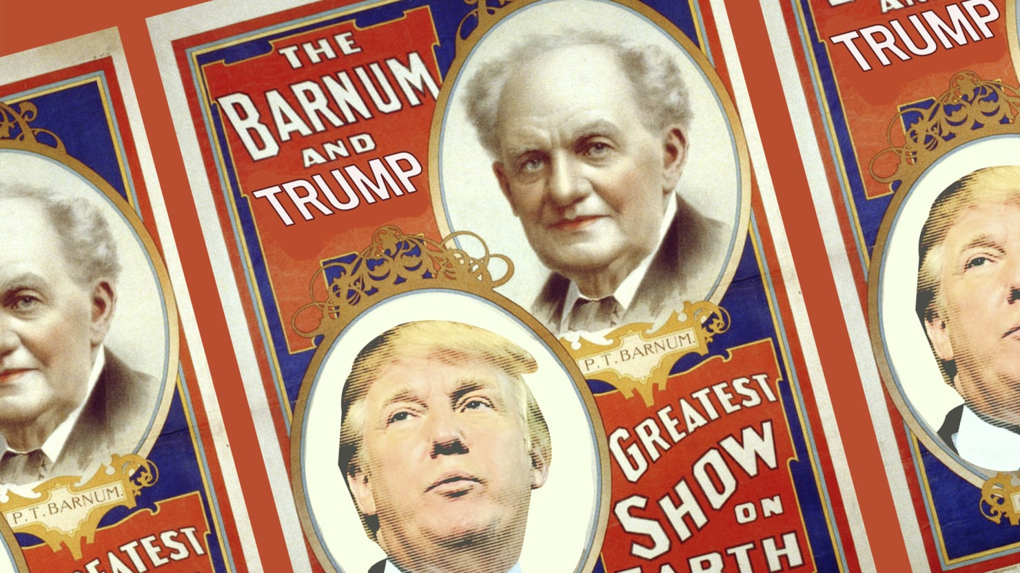 Pt barnum makes trump look like a clown donald trump has compared himself to the legendary american showman but he has more in common with items found in barnums museum than his incredible stopboris Choice Image
