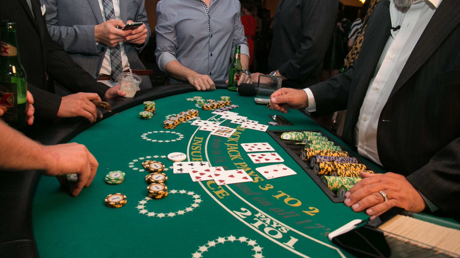 Playing Blackjack In Las Vegas