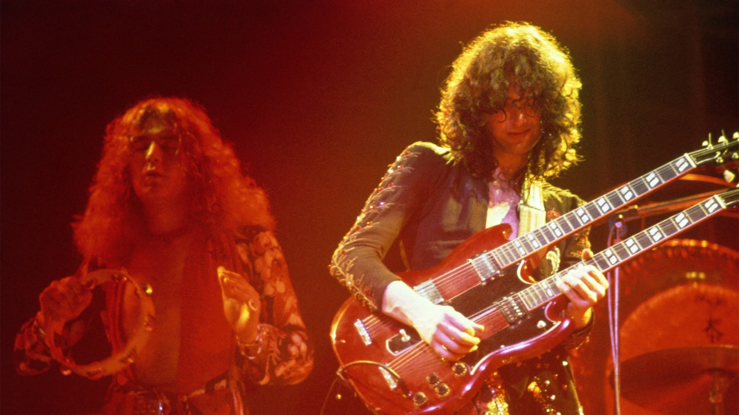Jimmy page on a led zeppelin reunion i cant foresee doing it again alamy voltagebd Choice Image