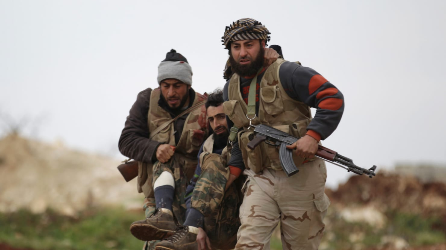 Pentagon Turns Its Anti-ISIS Rebels Into Cannon Fodder