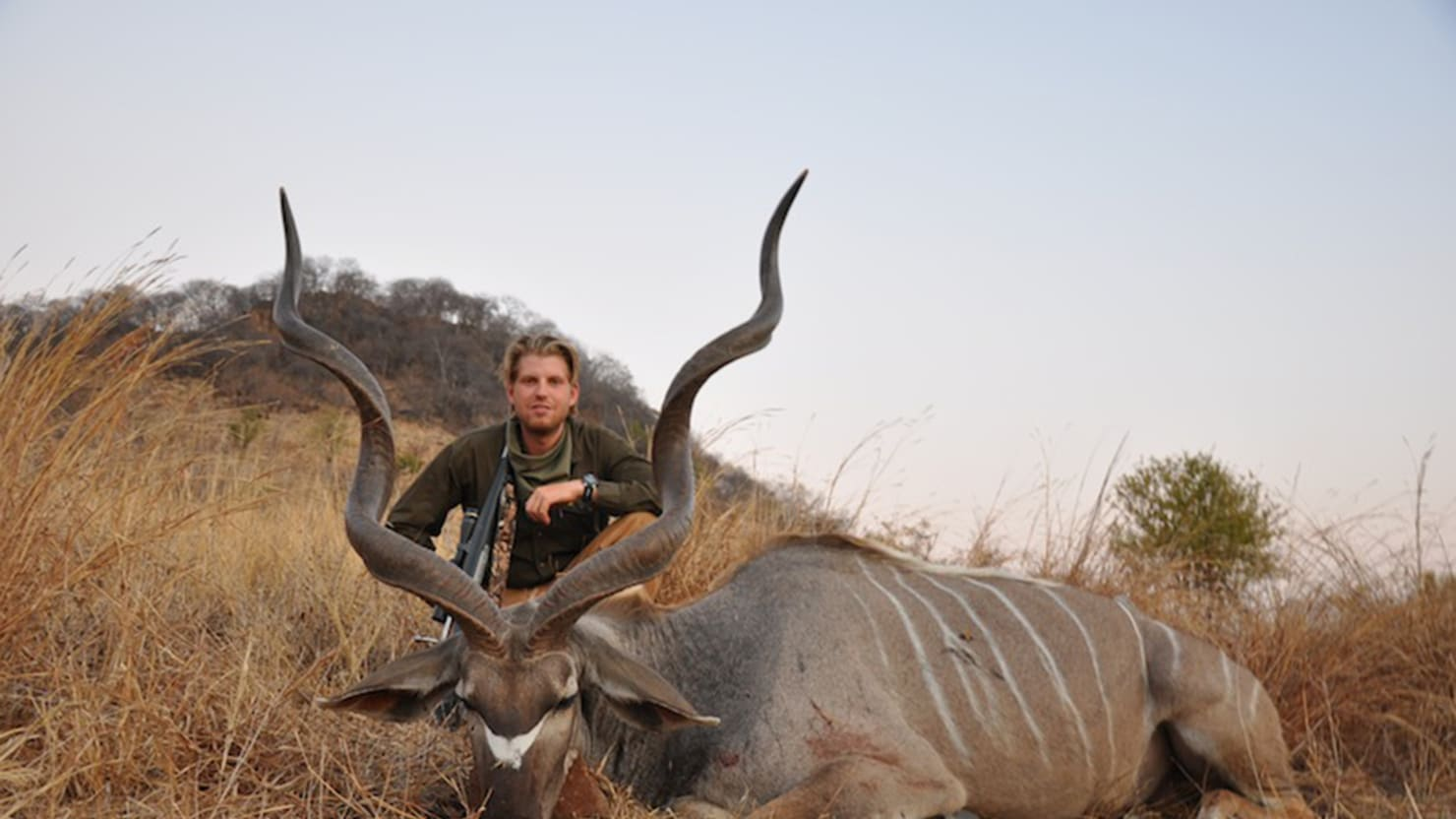 Image result for trump jr hunting