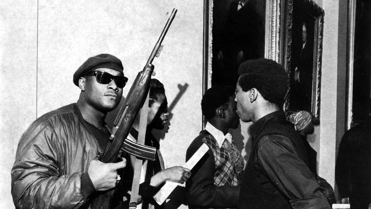 were the black panthers violent