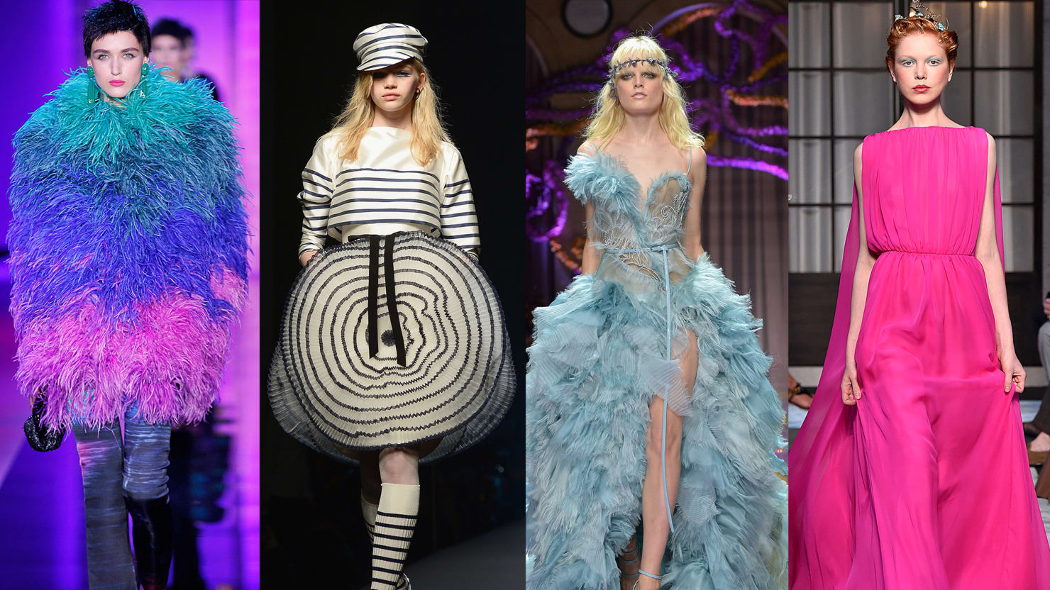 The Craziest Looks From Couture Week
