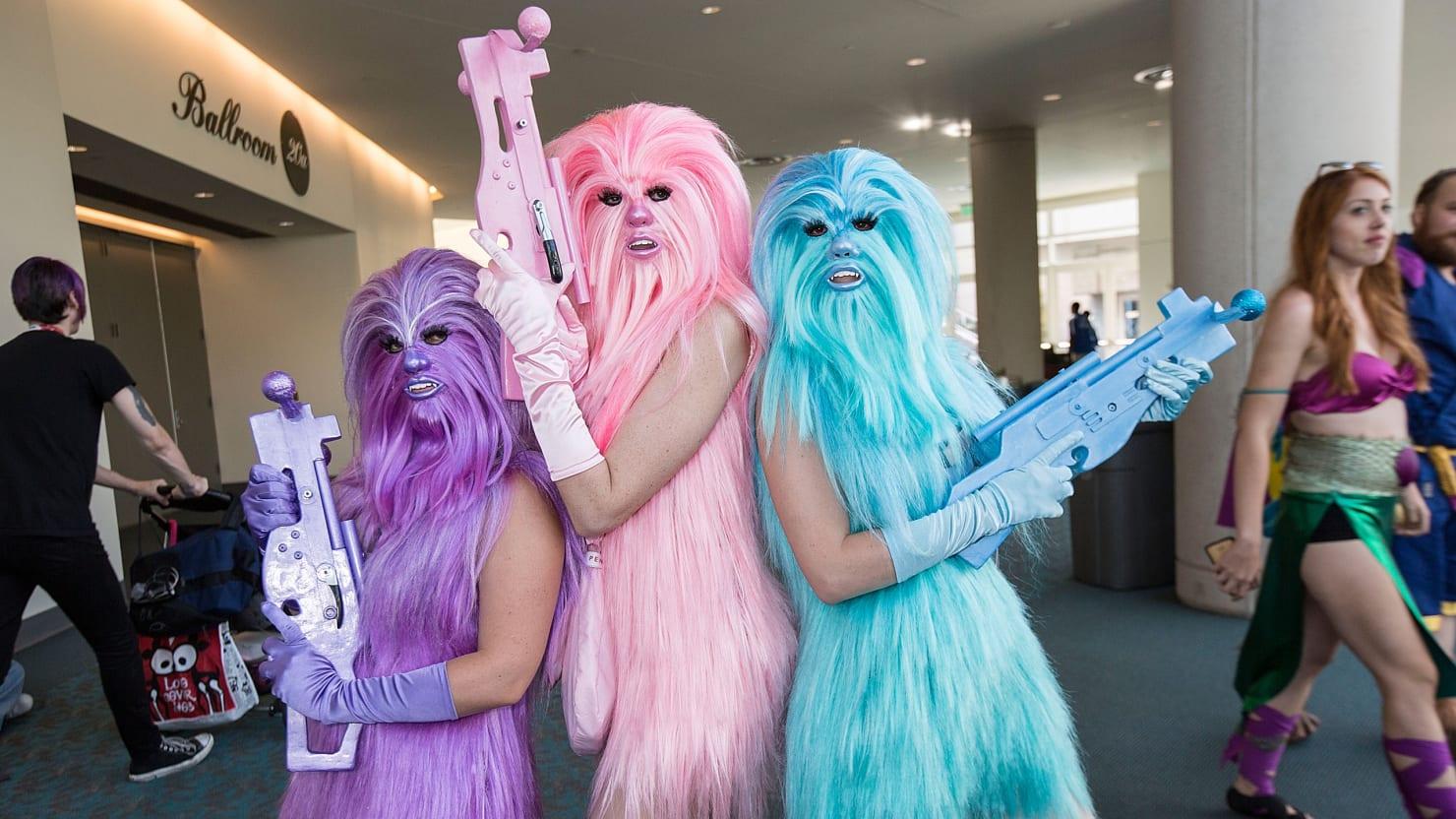 The Feminine Side of Comic-Con 2015