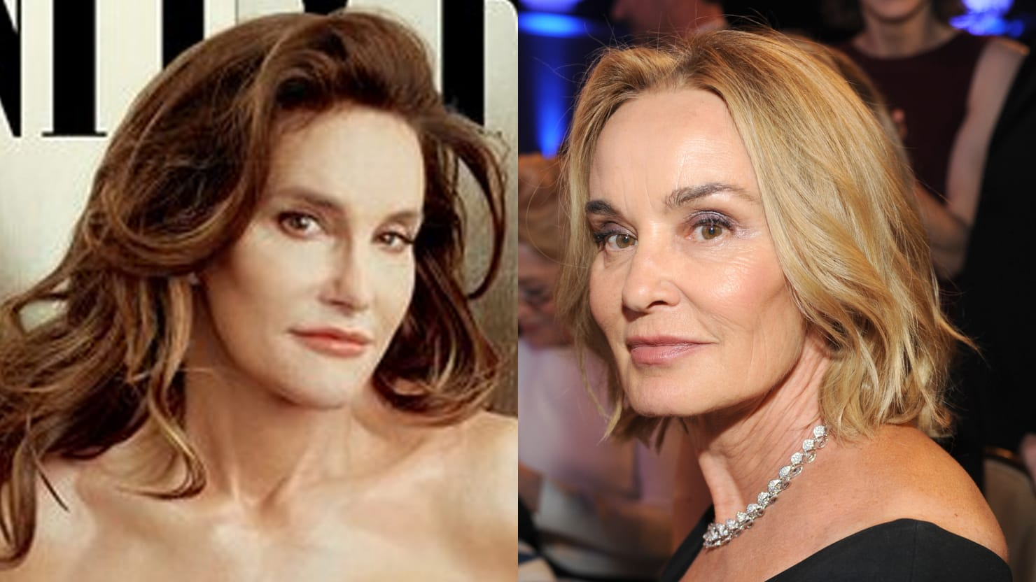 Jessica Lange Learns About Caitlyn Jenner Comparisons: 'That's So Wonderful'