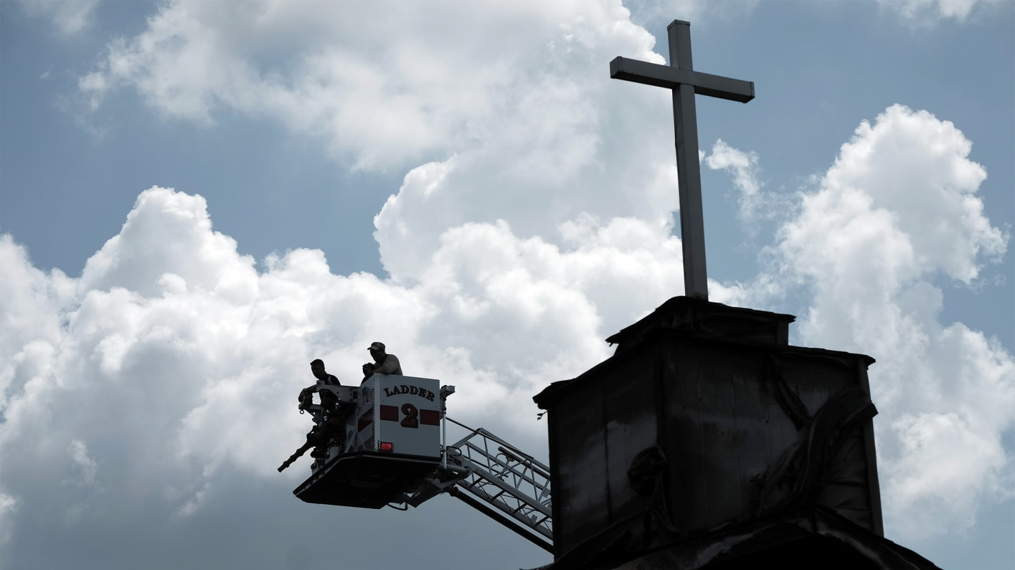 Burned Black Churches May Be 'Violent Backlash' After Charleston Shooting