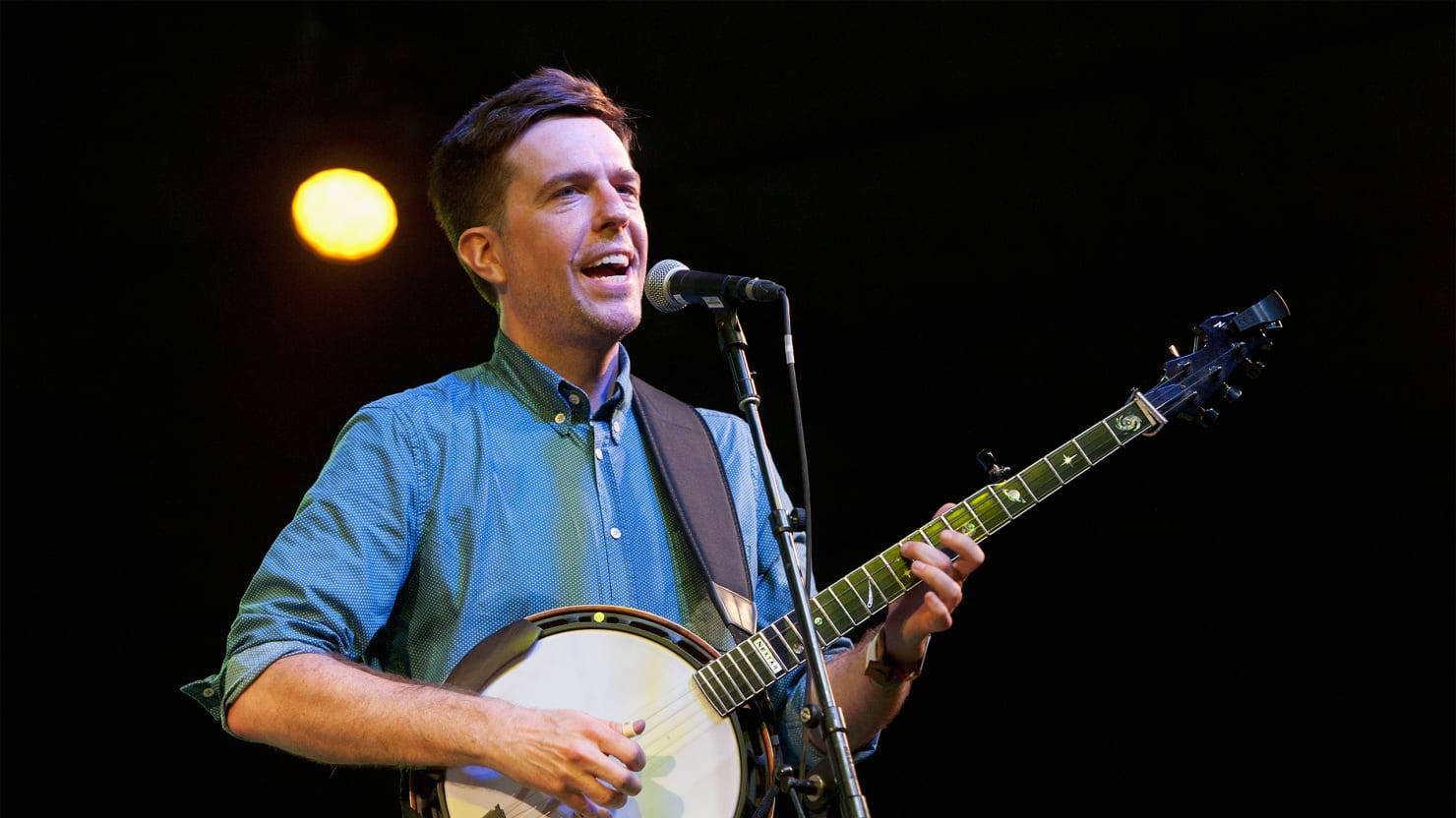 ed helms on his bluegrass supergroup and banjoplucking skills
