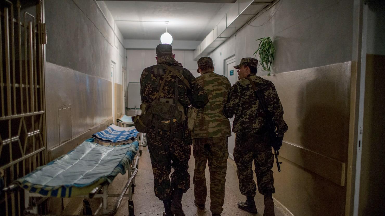 The Hospital Singing Soviet War Songs