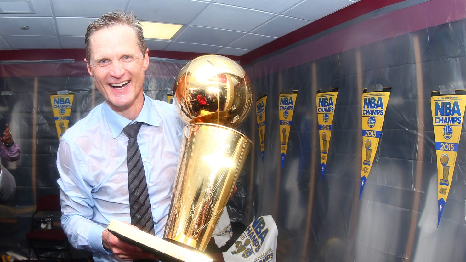 Steve Kerr, the Risk-Taking General Who Led the Warriors to Victory