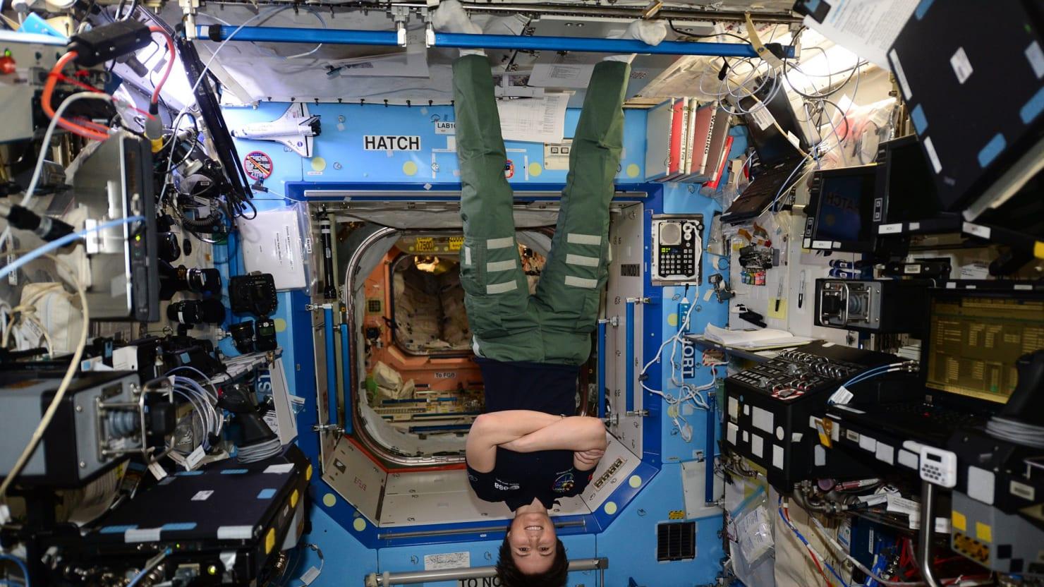 Sandra Bullock's Got Nothing on Italy's Hottest Astronaut