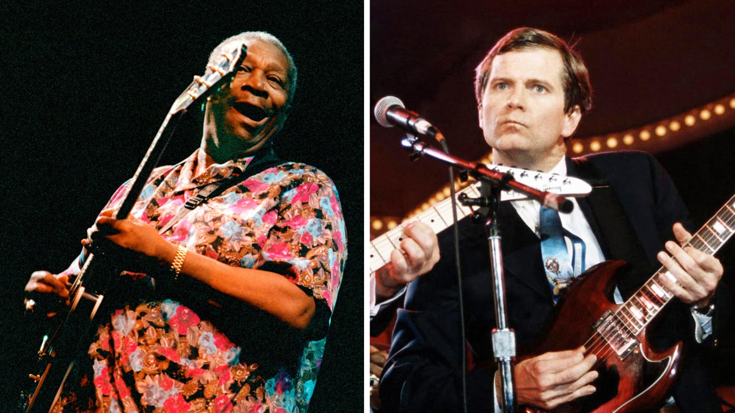 B B King And Gop Strategist Lee Atwater Used To Jam And