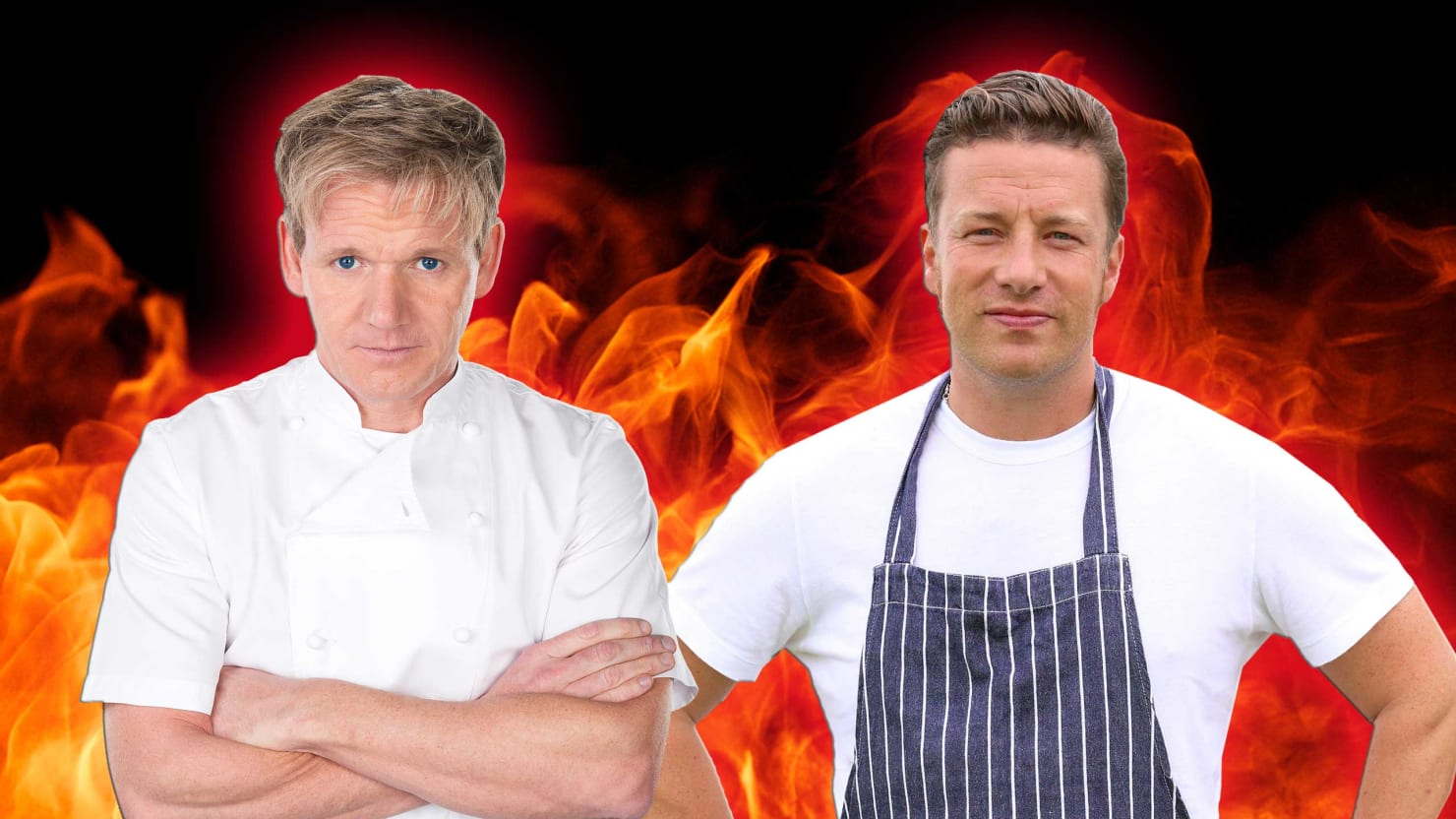 Sharpening Their Knives: Gordon Ramsay vs. Jamie Oliver in the Ultimate Brit Foodie Feud