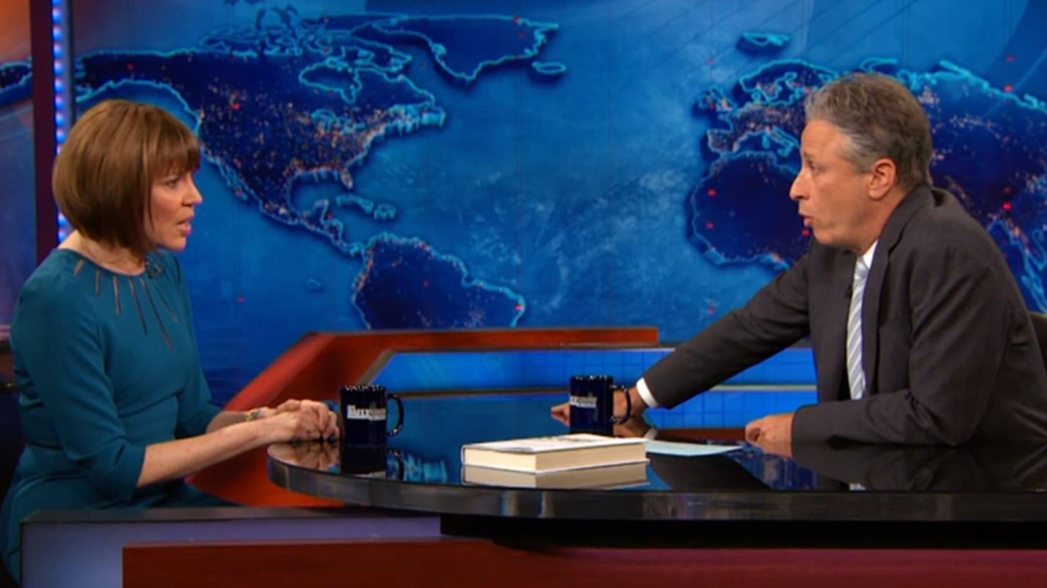 Jon Stewart Grills Judith Miller on Iraq, She Blames the Clintons