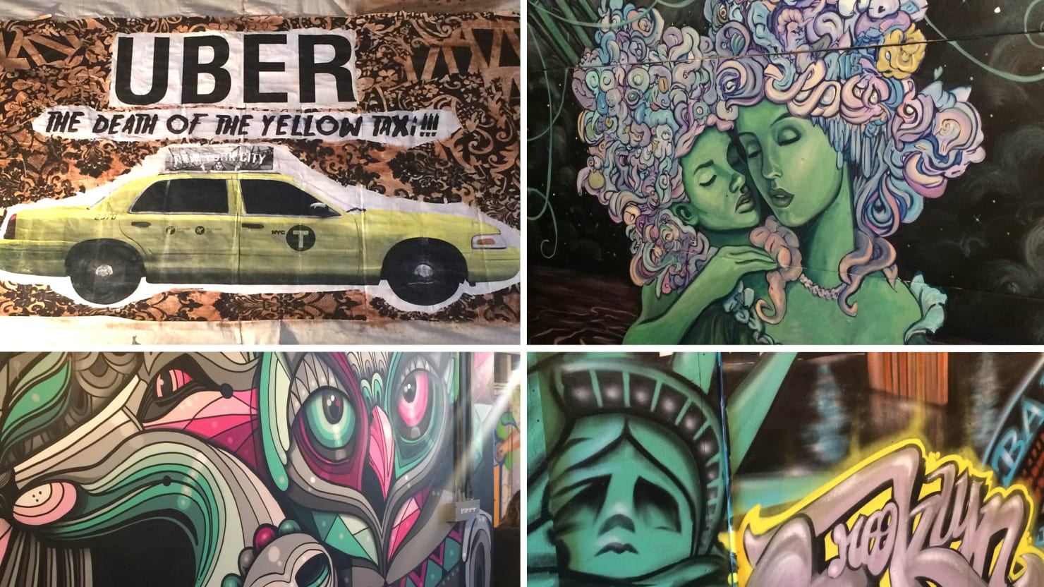 Why Are Brooklyn Street Artists So Obsessed With The Past?