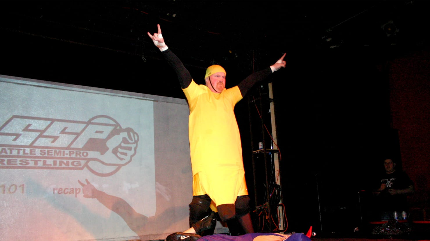 Revenge of the Banana-Suited Wrestler: The Craziest Wrestling Story Never Told
