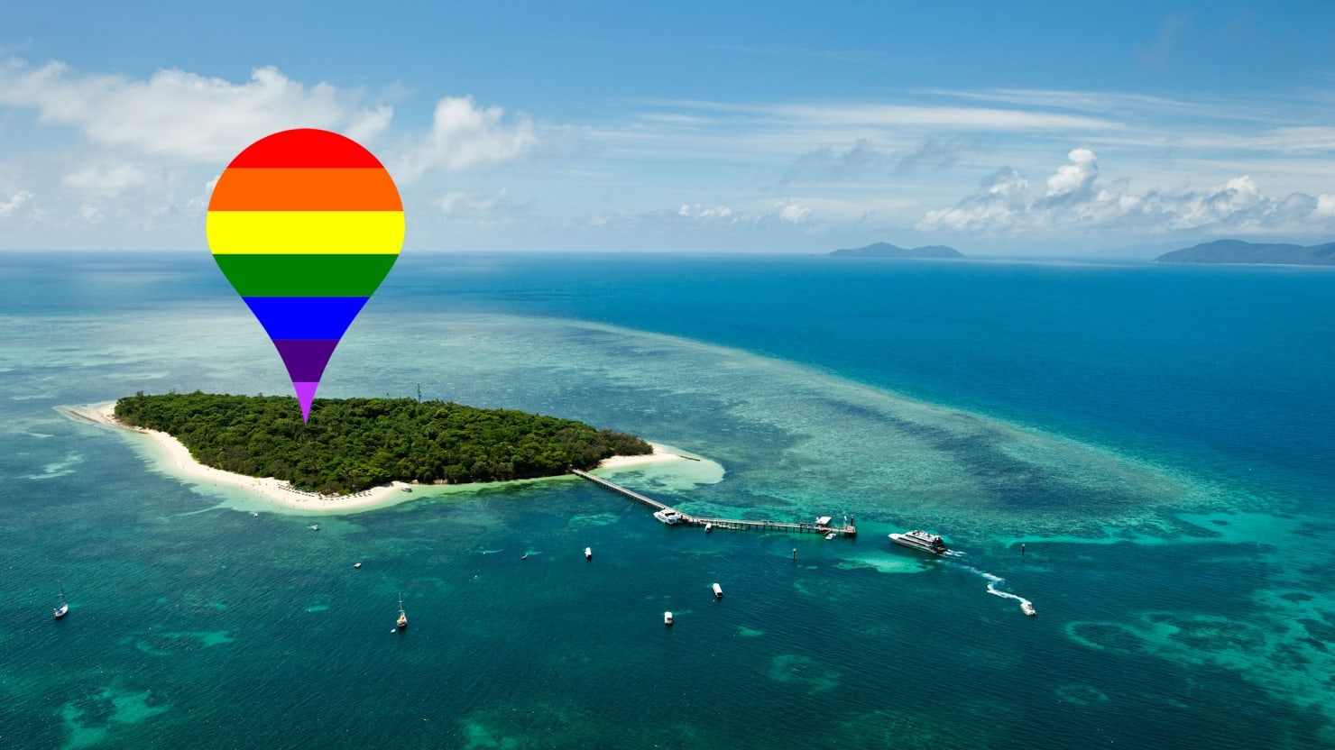 Gay Docking Pics with australia's lgbt-only island
