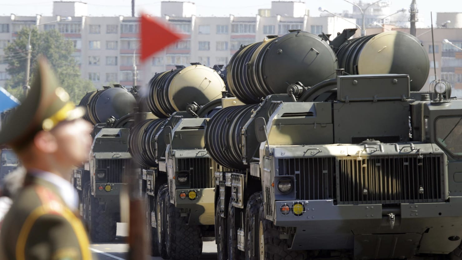 S 300 missile systems vs patriot - Vasily Fedosenko Reuters