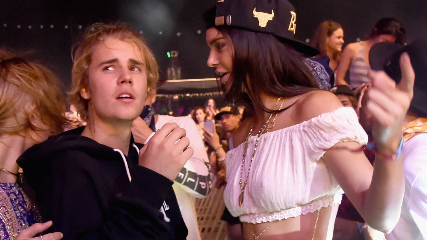 King of the Douchebags: Justin Bieber Carried Out of Coachella in a Chokehold