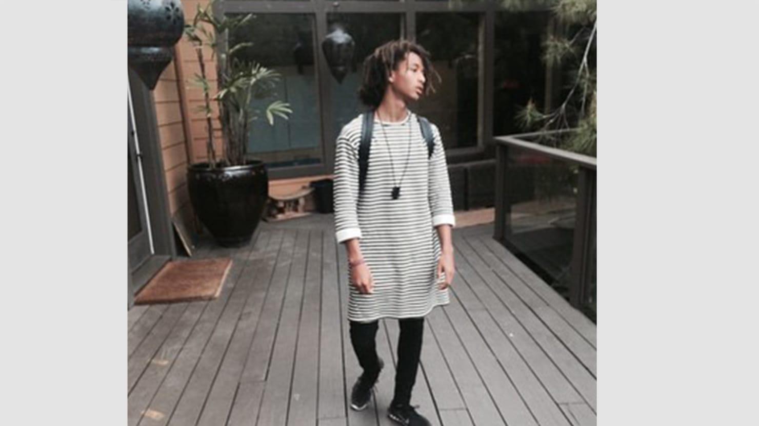 Jaden smith fashion dresses