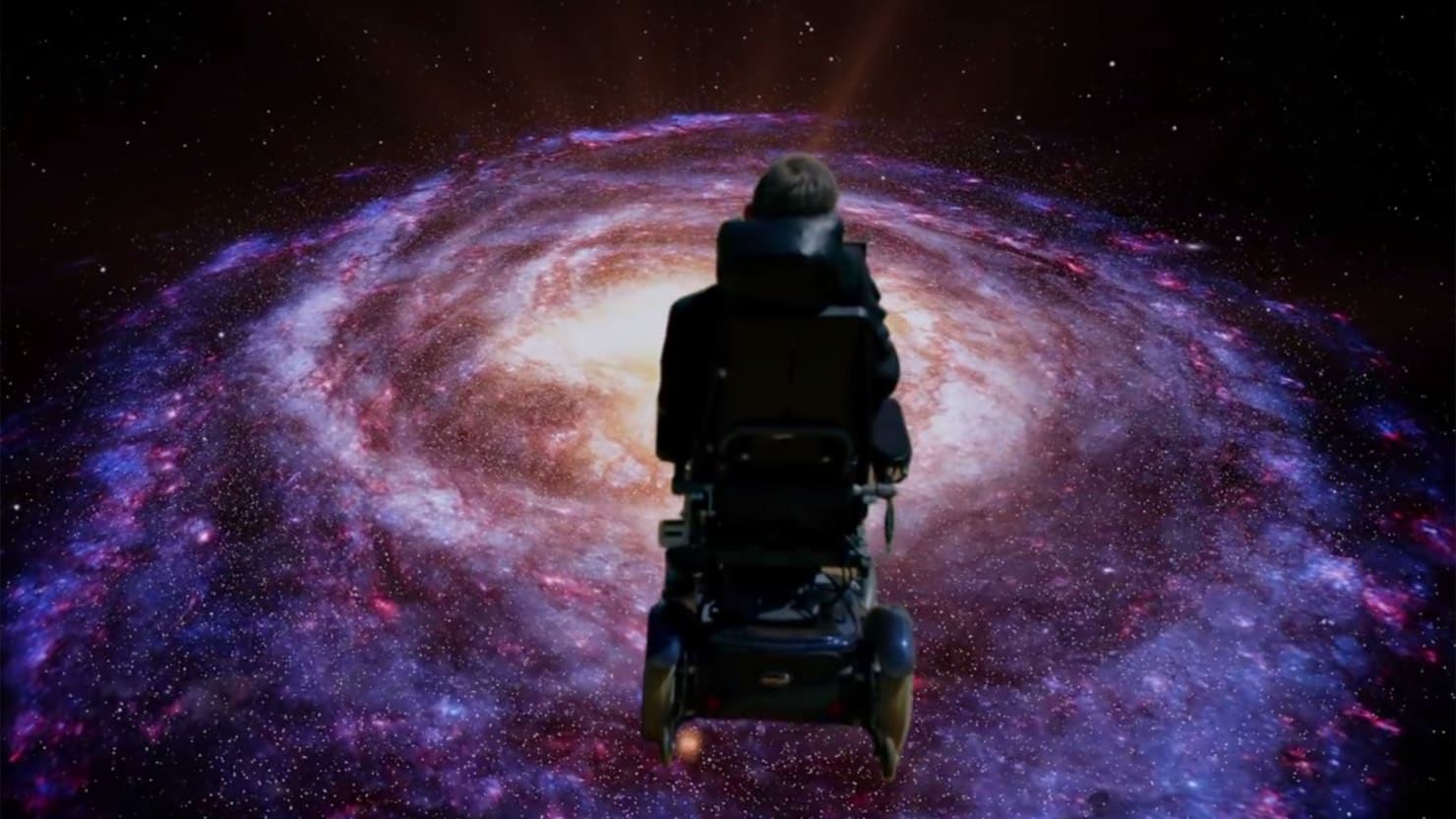 Stephen Hawking Covers Monty Python S Galaxy Song