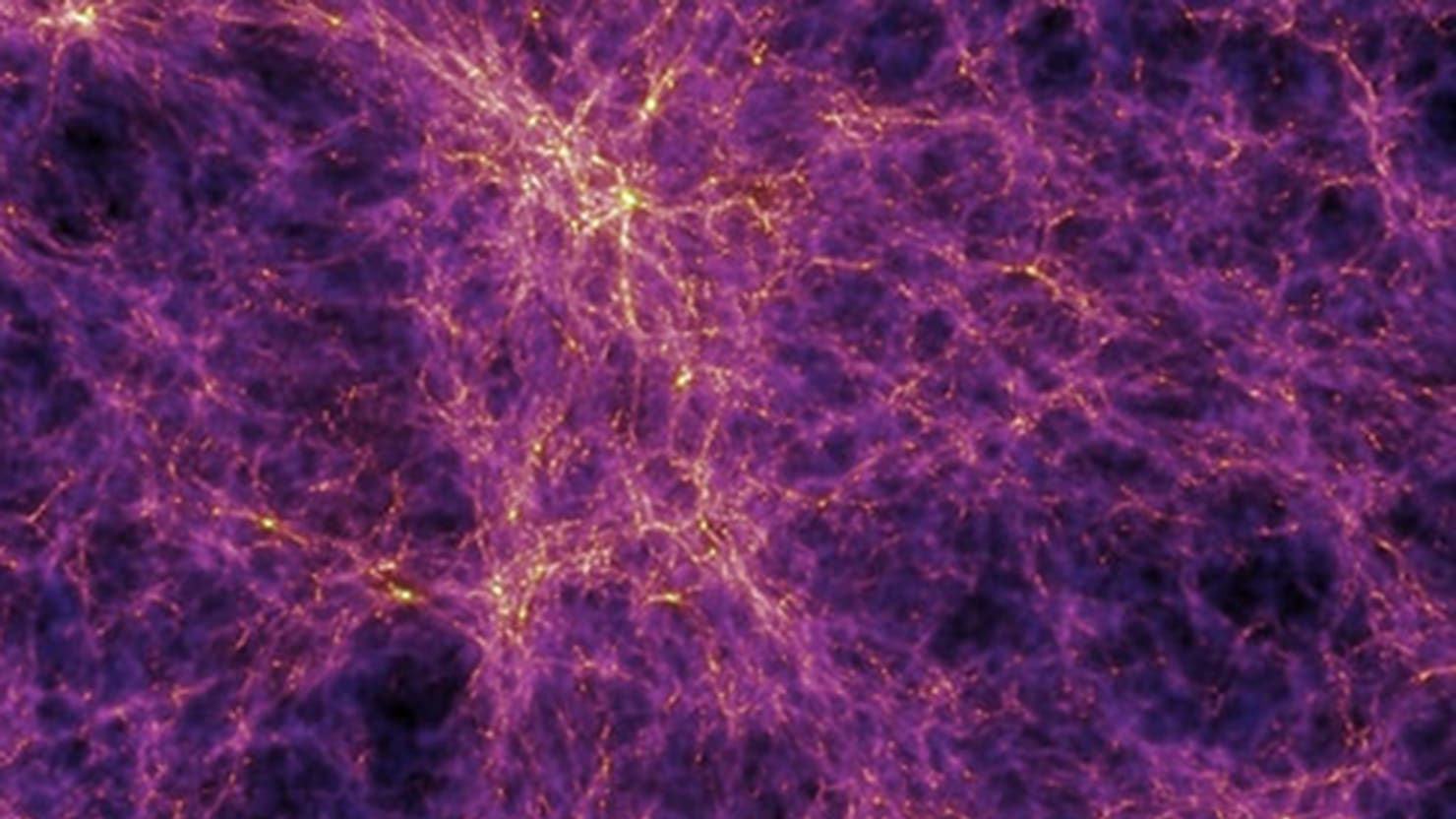 scientists create dark matter map