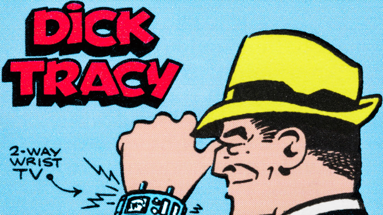 How Dick Tracy Invented the Apple Watch