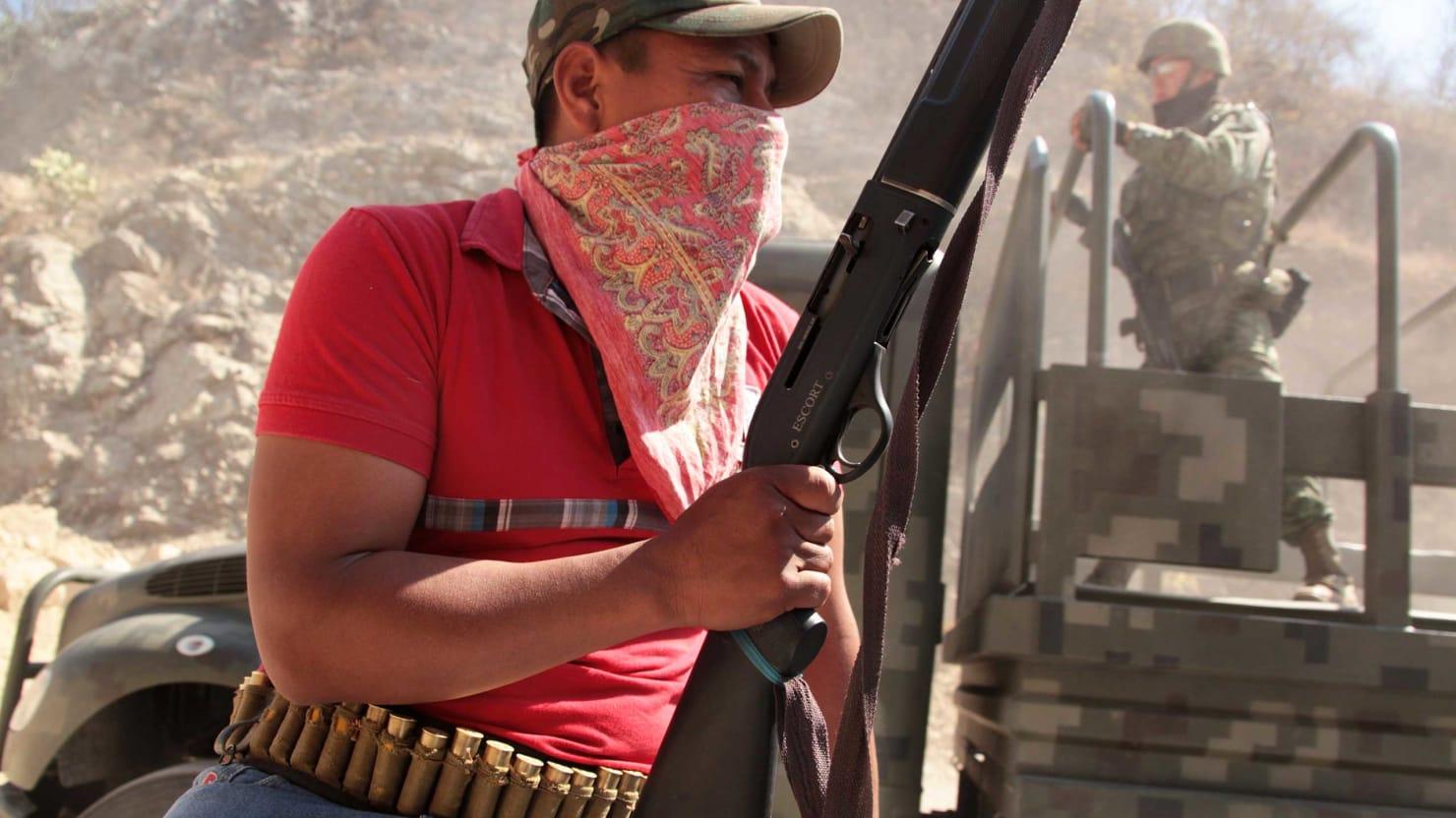 Mexican Vigilante Justice Hits $7 Billion Gold Mine