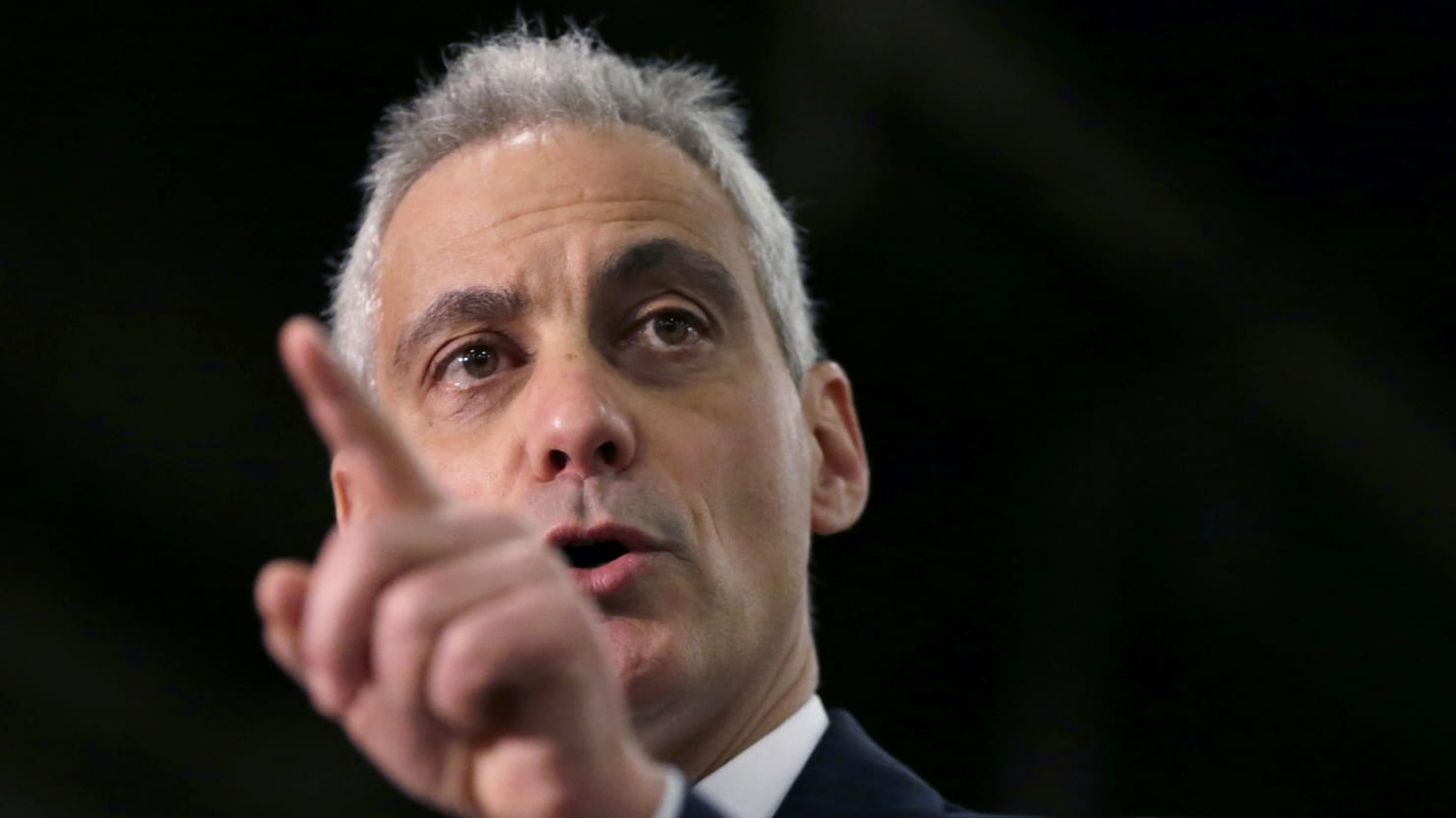 Rahm Snaps At Mental Health Advocates You Re Gonna Respect Me