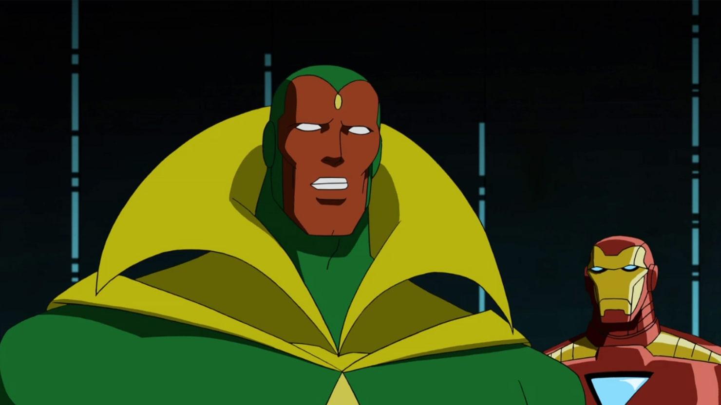'Avengers: Age of Ultron's' Secret Vision: Meet the Mysterious New Avenger