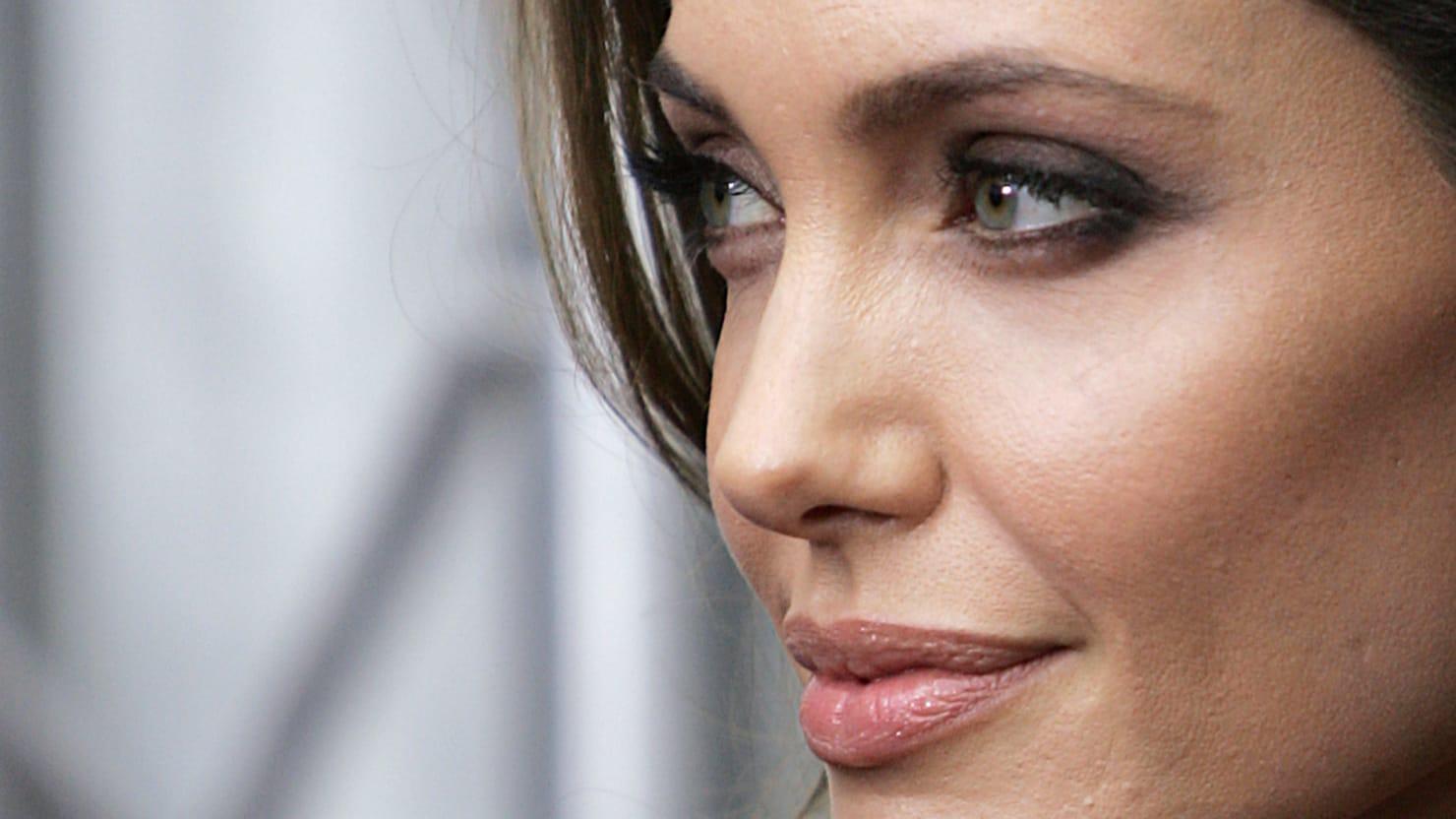 Angelina Jolie Science Hero